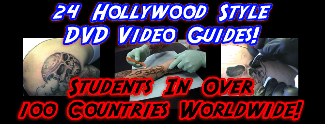 One of the BEST sets of tattooing videos is created by the