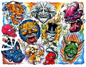 Awesome Tattoo Flash Designs | Printable Tattoo Designs