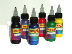 tattoo ink bottles